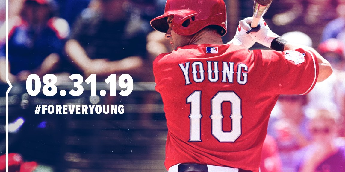 Michael Young's No. 10 to be retired by Rangers