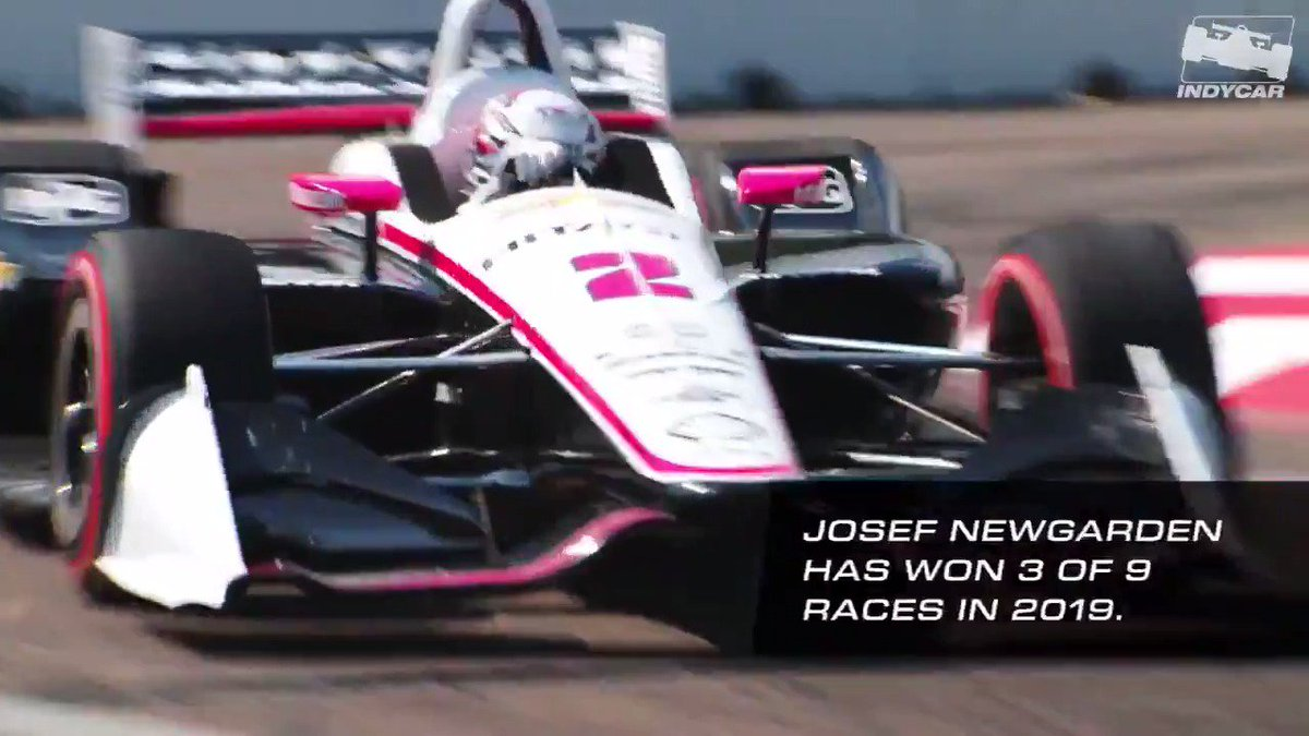 Can anyone stop @JosefNewgarden? Hes on fire in 2019, and some of his best tracks are yet to come 😤 #INDYCAR // @Team_Penske // #REVGROUPGP