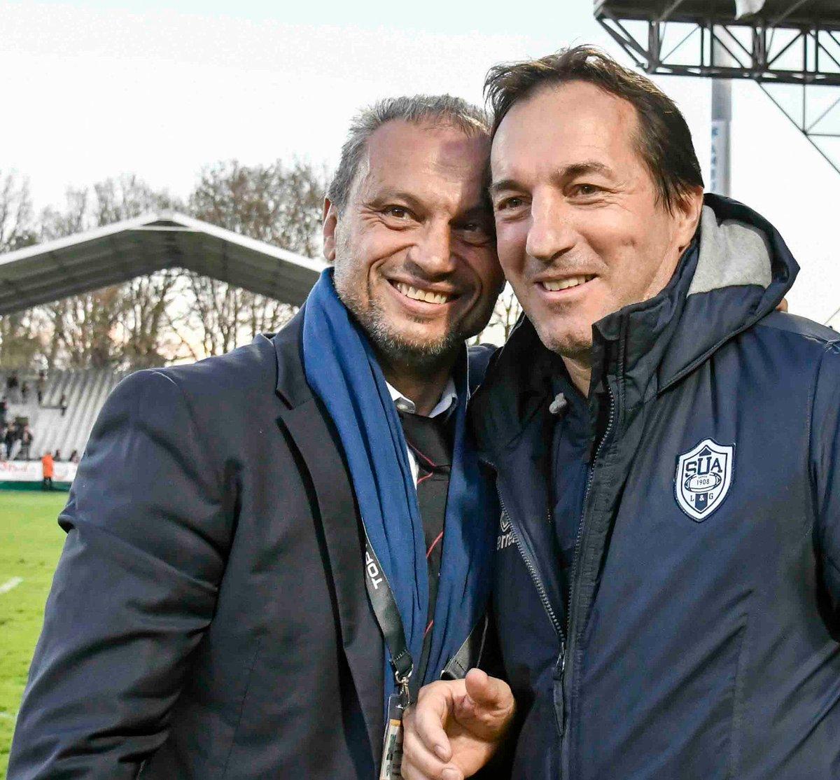 🔻 L'ensemble du @agen_rugby souhaite un très joyeux anniversaire à son Président @JeffFonteneau ! 😁