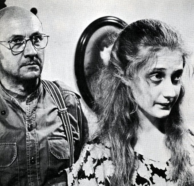 Happy Birthday to the great Carol Kane... here with Donald Pleasence in WEDDING IN WHITE {1972}