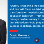 Image for the Tweet beginning: Our President and CEO @davemansouri