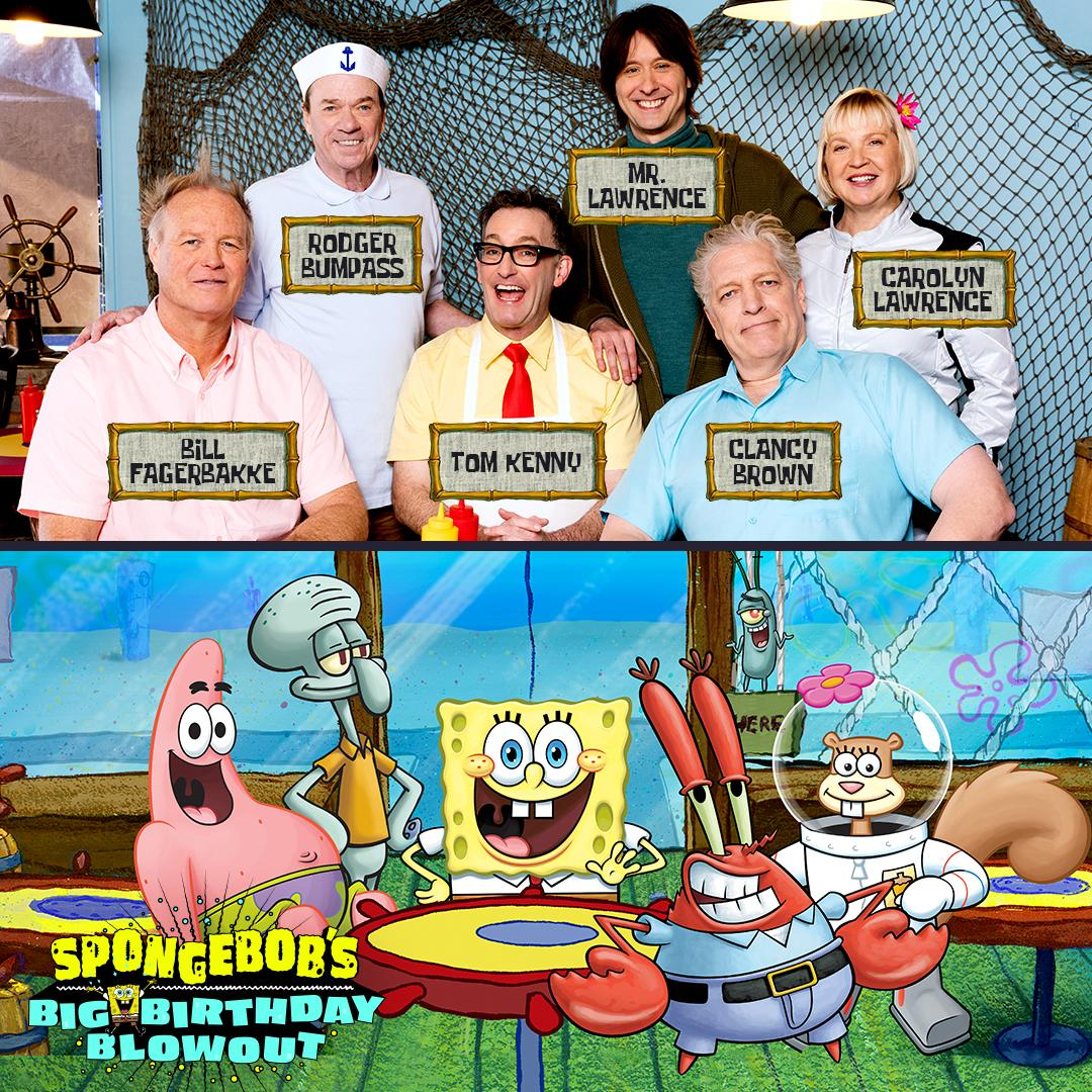 We're celebrating 20 years of SpongeBob @Comic_Con! Special guests, an interactive booth, a panel & plenty of surprises<br>http://pic.twitter.com/wjlV56pcSs
