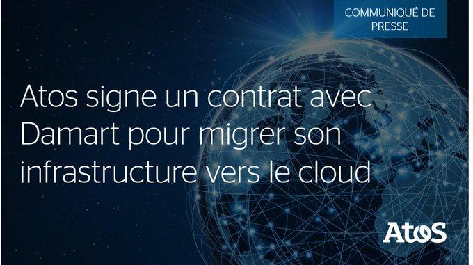 📣 #Atos remporte un contrat pour migrer l'infrastructure de @Damart_fr vers le #cloud avec...