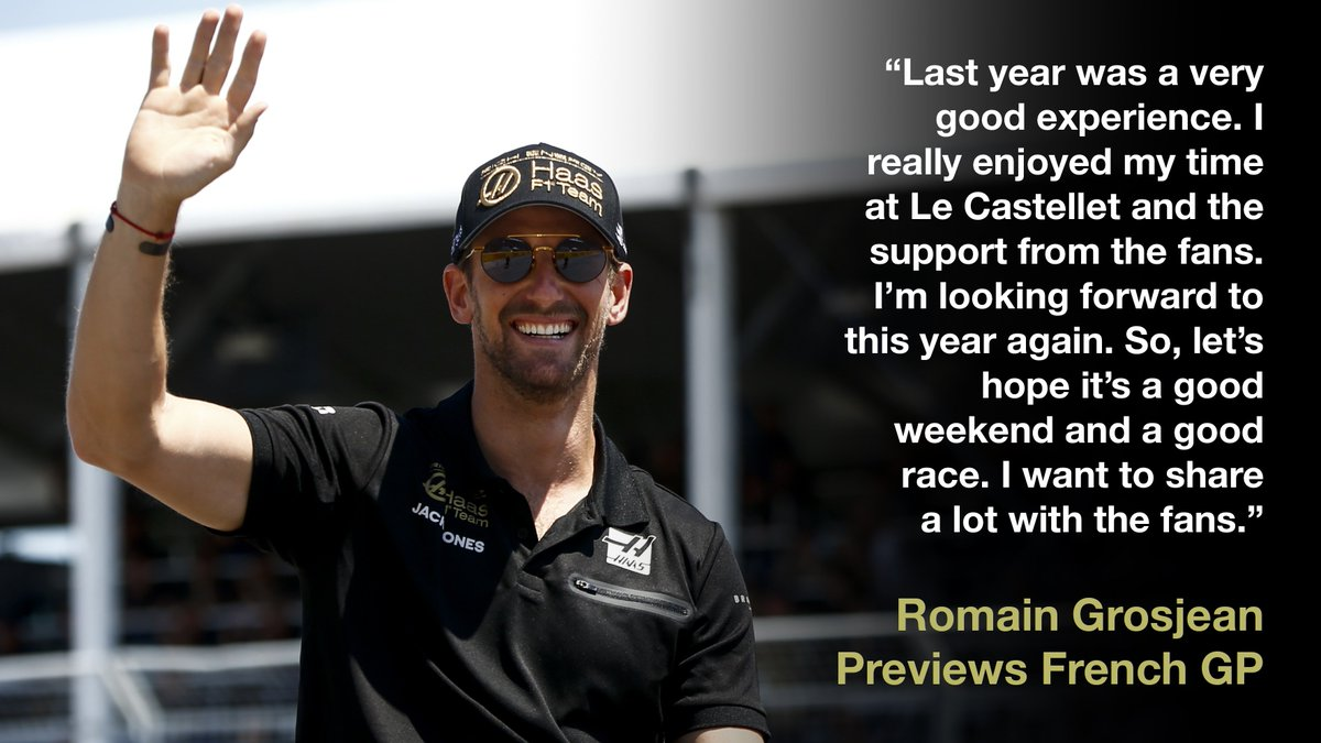 🇫🇷 There's no place like home for @RGrosjean!  Read his #FrenchGP Q&A here 👉 http://bit.ly/2x0lZOf