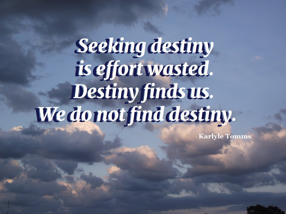 Retweets appreciated. #destiny #gratitudequotes     http:// karlyletomms.com     <br>http://pic.twitter.com/UDOWCSyayM