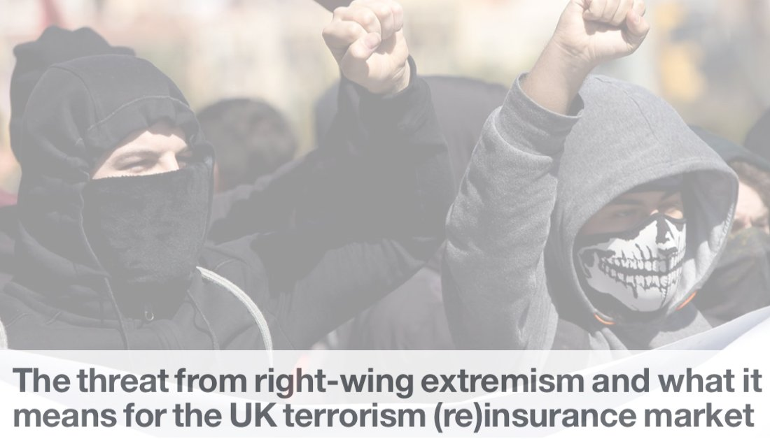 One of the highlights of our new newsletter is a detailed exploration by our in-house research & analysis team into evolving #terrorism threats & in particular the threat from #RightWingExtremism & what it means for the #UK terrorism (re)insurance market  https://www. poolre.co.uk/pool-re-biba-n ewsletter-2019/  … <br>http://pic.twitter.com/zXBURv6J1Z