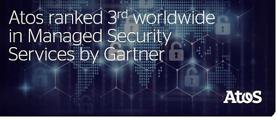 A Atos alcançou a 3ª posição mundial em serviços gerenciados de segurança,em termos de...