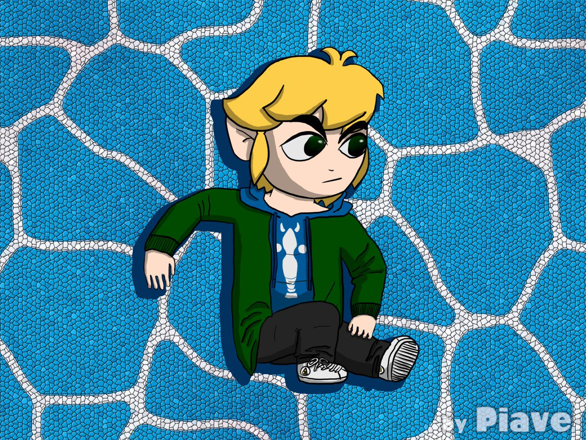 This time I decided to go for a drawing instead of a render!  Toon Link with modern clothing, he a stylish bean~   #LegendofZelda #WindWaker #ToonLink #Link #hyah<br>http://pic.twitter.com/UFVxTEKgtH
