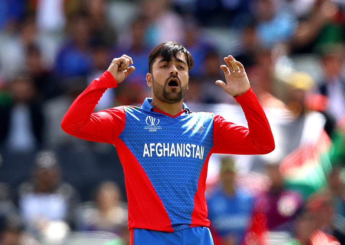 Rashid bowled a horrendous spell of 0-110 in 9 overs against England | Image Source: ESPN