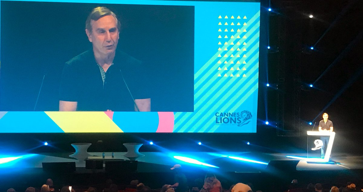 Richard Edelman kicks off our #CannesLions session with Thomas Heatherwick on the main stage. Stay tuned for updated on the conversation. edl.mn/2XFzmiA #EdelmanCannes