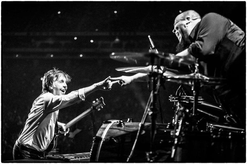 "Happy Birthday Brother!!! ""They say it's @PaulMcCartney 's birthday..."" : ) >"
