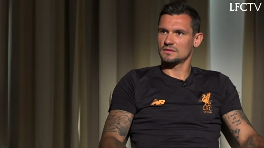 Reporter: Dejan, Isn't it time to say goodbye to the Liverpool fans?       Dejan Lovren: Why? Where are they going?