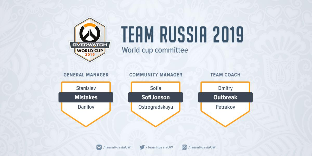We're  happy to finally announce our committee for #Overwatch World Cup 2019!  GM - @MistakesOW  CL - @NonmeStrangerMS  Coach - @Outbreak_OW  Thanks everyone for your supporting!  #OWWC2019<br>http://pic.twitter.com/tFemZN4rth