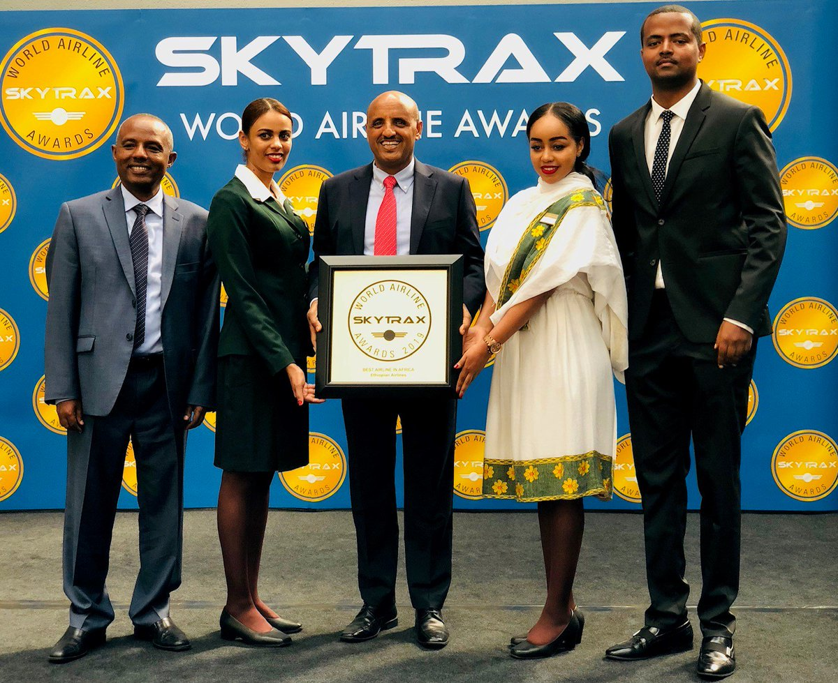 Pride of Africa 😍 Ethiopian Airlines group is voted 'Best Airline in Africa' for 3rd consecutive year at Skytrax 2019 World Airlines Awards. #PAS19 #ParisAirShow #AvGeek #AviationDaily