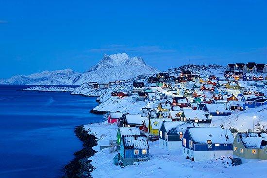 Groenlandia, misma foto con 17 años de diferencia. Así era en 2002 y así es hoy. Da que pensar.