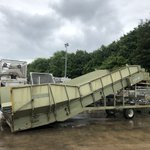 Image for the Tweet beginning: Some big potato handling equipment