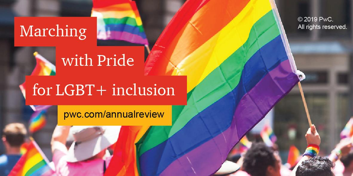 Over 160 PwC people from 28 countries will join our first ever Global #LGBT Summit, 28-30 June Find out what it is and why we're doing it: https://pwc.to/lgbt  #PwCPride