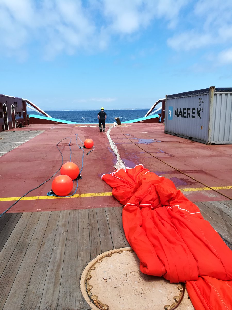 Before launching System 001/B this week, we tested the parachute sea anchor that will be used for slowing down the system. At low speed, it performed as planned with satisfactory results. We are now green-lighted to test with the system in the patch. More details in coming weeks.