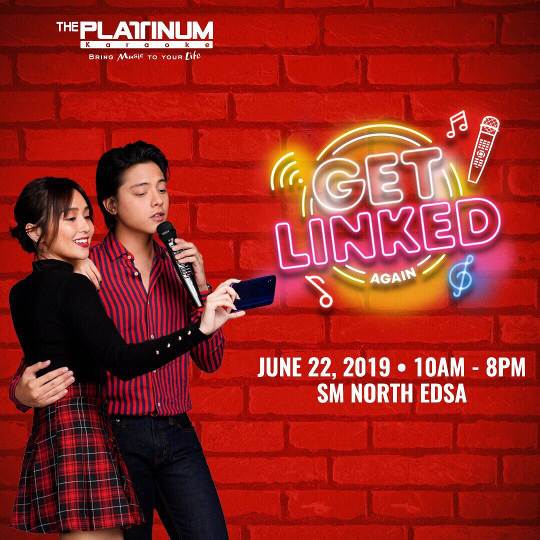 Ready na kami mga ka-Platinum! See you on Saturday para sa Platinum Karaoke Get Linked Again event!  #PlatinumKaraokeGetLinkedAgain #PlatinumKaraokexKathniel #BringMusicToYourLife