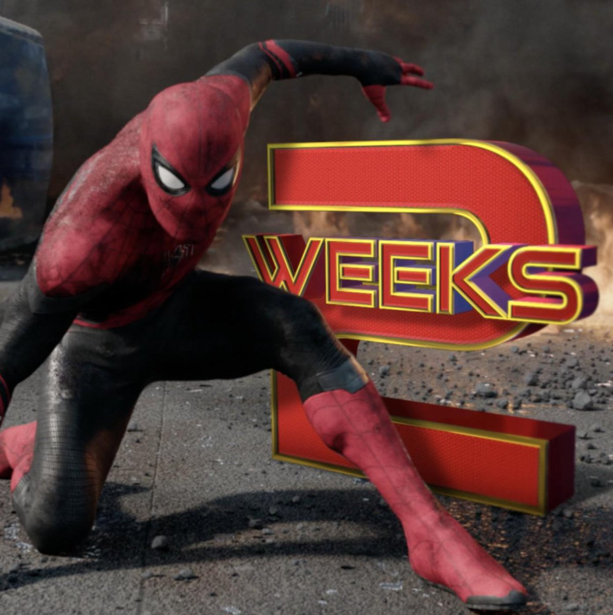 Two weeks. #SpiderManFarFromHome http://bit.ly/FarFromHomeTix