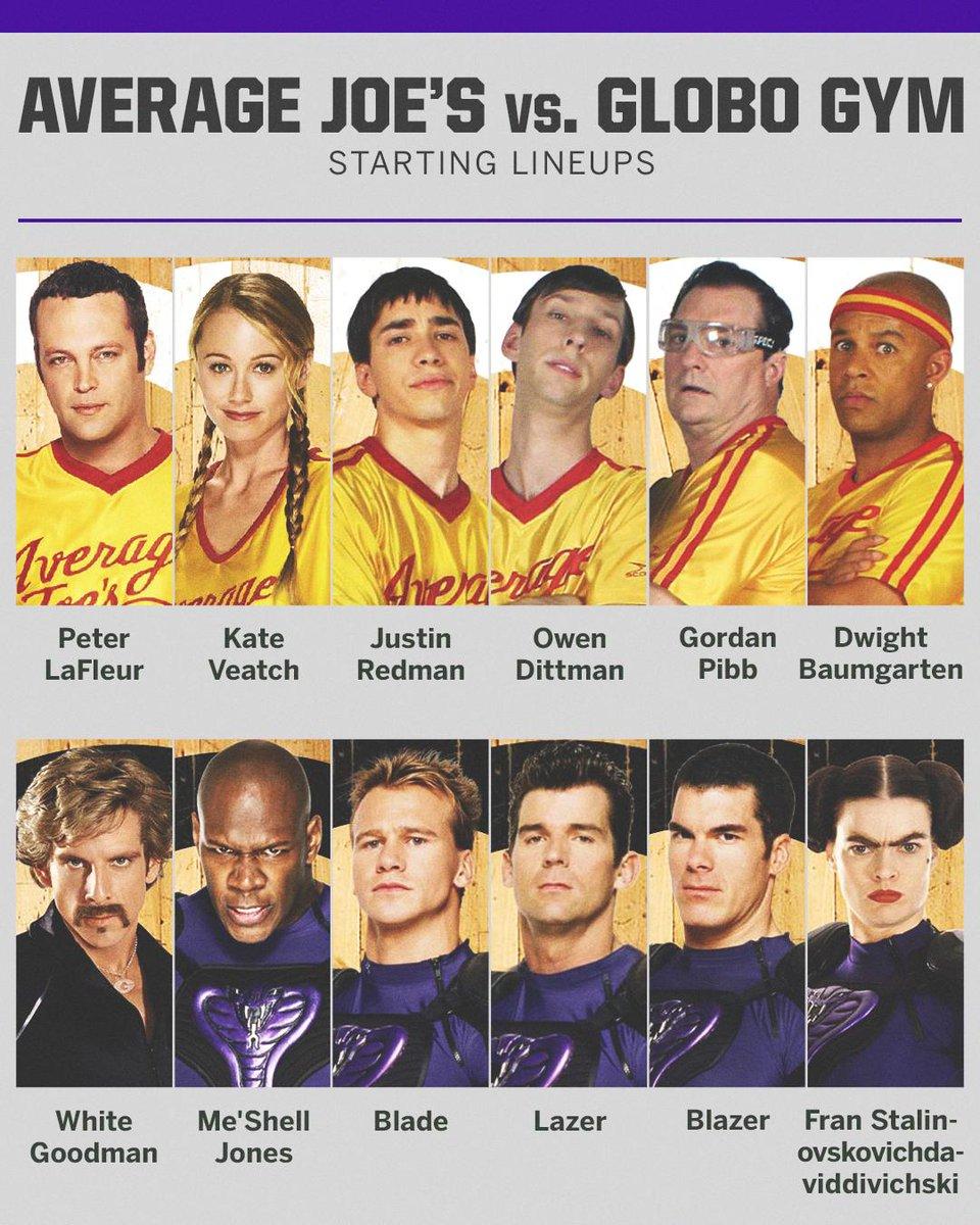 Average Joe's and Globo Gym: the original super teams.