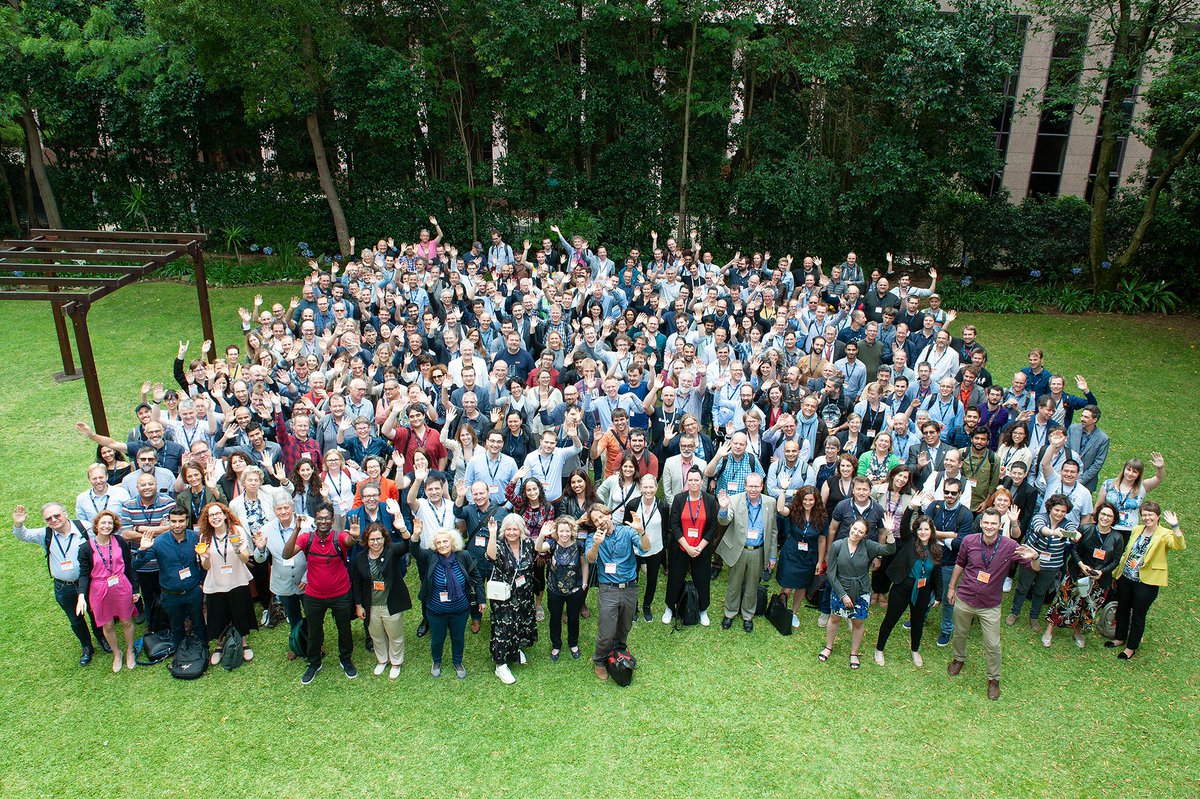 Meet the ELIXIR Community at All Hands in Lisbon! Over 300 participants from across all ELIXIR Nodes and beyond! Great to see you all here! #ELIXIR19