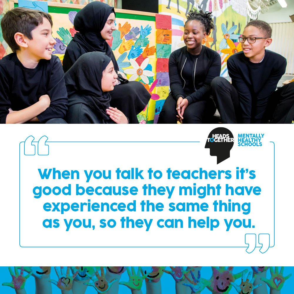 This week weve launched our #MentallyHealthySchools partnership with @TesResources, who have created a hub of featured primary school wellbeing resources for staff including lesson plans and assembly ideas. Take a look and get started here >> bit.ly/2XSIGQi