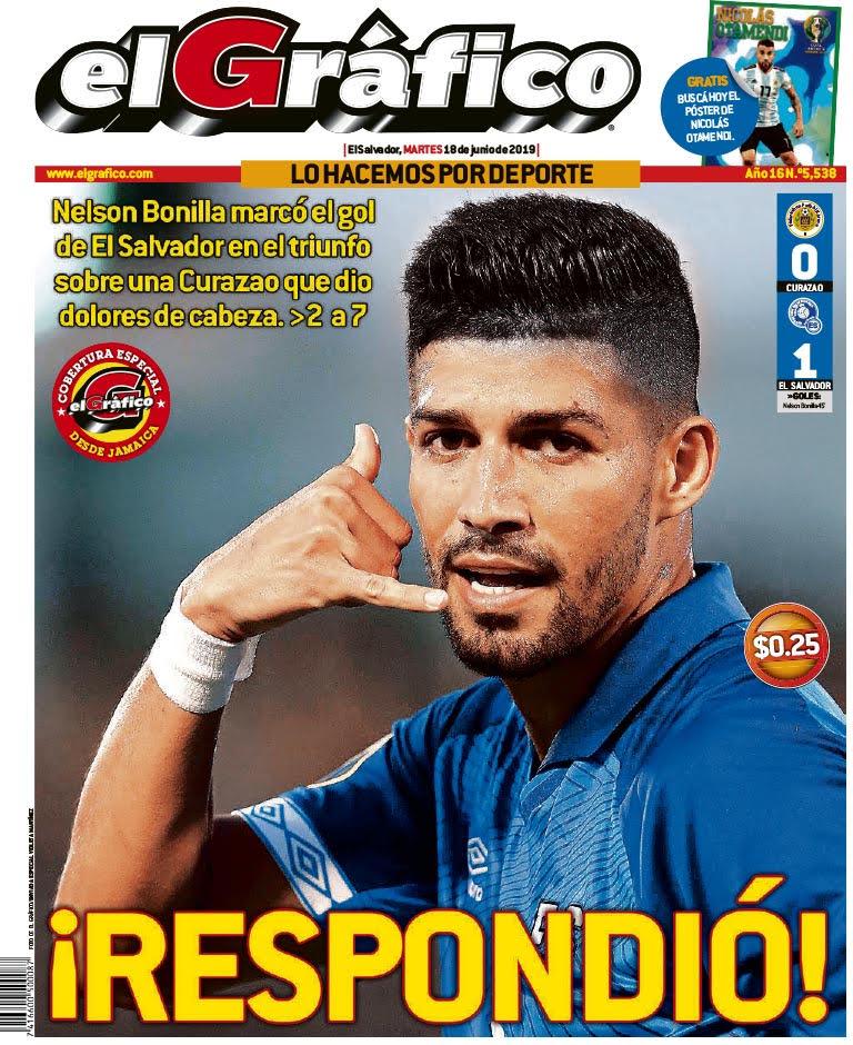 Copa Oro 2019: El Salvador 1 Curazao 0. D9WUaI1XsAAc7a6