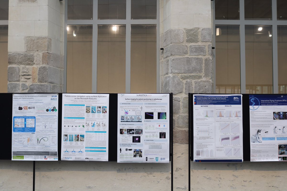 Posters in the hall this morning #CARS2019Rennes<br>http://pic.twitter.com/Gbf1X0euYw