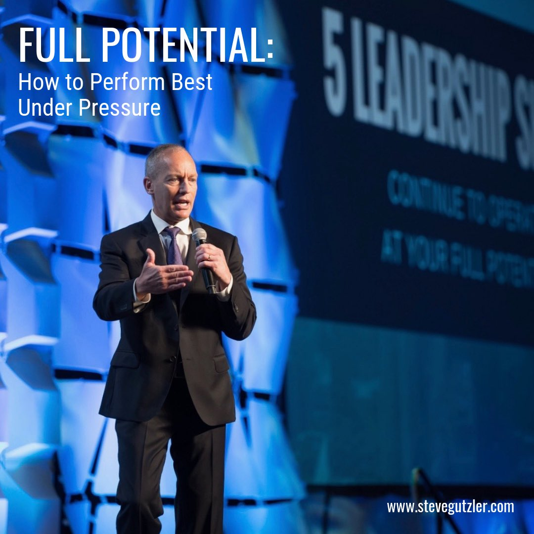 There are 5 Shifts every Leader must make in order to reach their Full Potential. Not 5 makeovers > 5 Shifts  http://Stevegutzler.com #FullPotential #Leadership #keynotespeaker