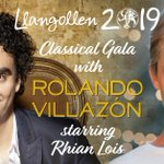 Just 2 weeks until we bring to Llangollen this stunning evening of music.  @RolandoVillazon @rhianlois @CHoatherSings  @jameshconductor @BSinfonietta  For tickets: https://t.co/JyW1pnzP5K #Llangollen2019