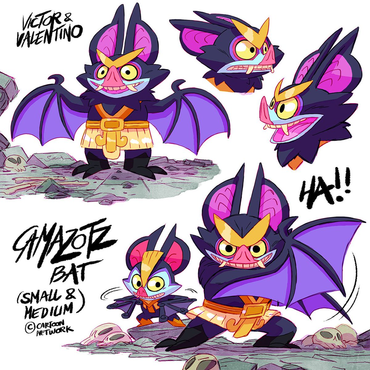 """Camazotz ! Gods of the night, death and Sacrifice. Erly research for """"Victor and Valentino"""" (Cartoon Network).  #victorandvalentino #CartoonNetwork #visdev #fabienmense<br>http://pic.twitter.com/t3QUOBARQm"""