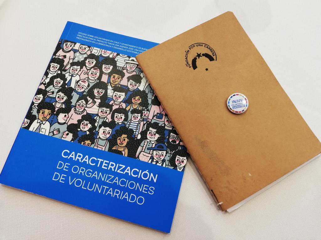RT @PorunaCarrera Pocos días antes de la bienvenida de nuestro voluntariado 2019 estamos en el lanzamiento del Registro Nacional de Organizaciones de Voluntariado de @InjuvChile y @ChileVoluntario #VamosAMil