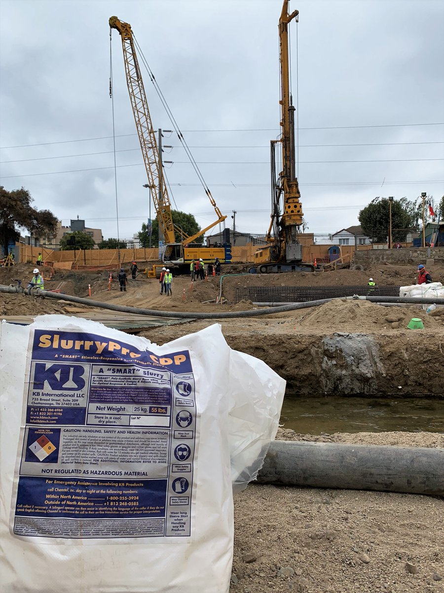 Kb International On Twitter Pilotes Terratest Chile Trusted Kb S Polymer On The Vina Del Mar Bridge The Contractor Installed 1 To 1 5 Meter Diameter By 30 To 40 Meter Long Piles In Sands Silts And Gravels
