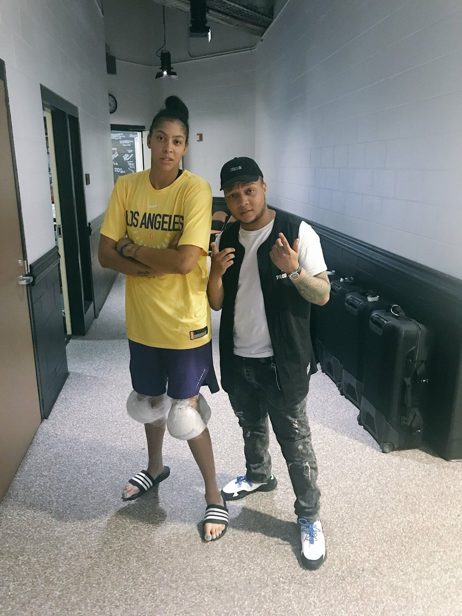 Someone said the GOAT is back ? Love me some @Candace_Parker !!!!!  📸: @ariivory