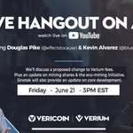 Image for the Tweet beginning: Join the #VeriCoin and #Verium