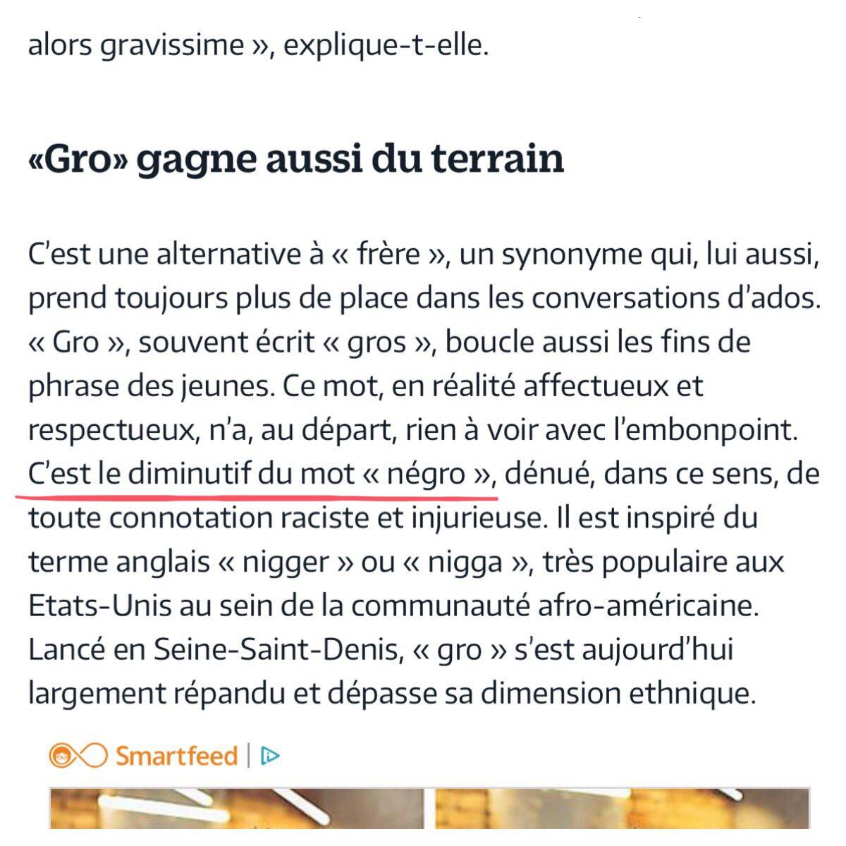 """« """"Gros"""" c'est pour gros bonnet, pour mon pote Le Gros qu'a pris seize ans, arrêtez de dire tous """"Gros"""", """"Gros"""" c'est pour Gros voyou» @rimkofficiel morceau """"Le gros"""" sur l'album """"Famille nombreuse""""  Cc @le_Parisien https://twitter.com/le_parisien/status/1140959574872248321…"""
