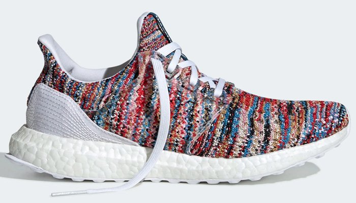 ⚡️ Just select sizes under 10 remain for the multicolor/white Missoni x adidas Ultra Boost for savings of 60% OFF at $100 + FREE shipping!  BUY HERE -> http://bit.ly/2vicmd0 (use promo code JUNE20)