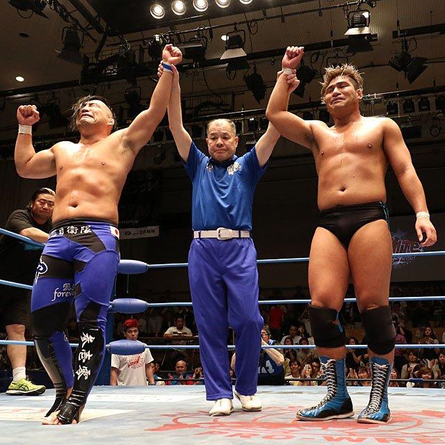 "AJPW: ""Dynamite Series 2019"" Evolution homenajea a Aoki 7"