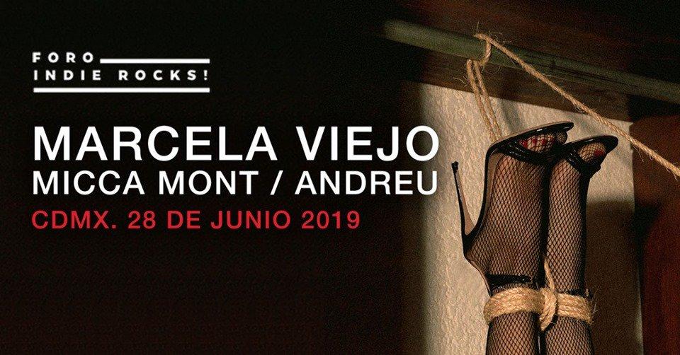 'Pequeñas Profecías', el álbum debut de @MarcelaViejo, será presentado la siguiente semana en el @ForoIndierocks. ¡Imperdible! https://t.co/jy81pZFoSx 👠 https://t.co/rV3bbn37fp