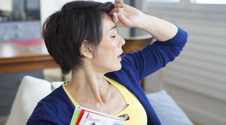"""""""My emotions are all over the place, from weeping to being agitated to sleeping a lot"""".  Confused about the side effects of #Menopause? Our guide has everything you need to know.  https://tinyurl.com/yya5bsyh"""