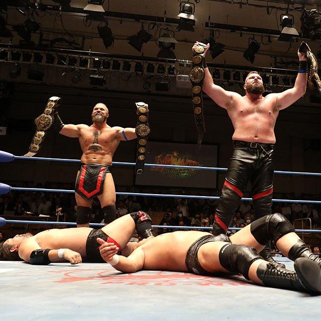 "AJPW: ""Dynamite Series 2019"" Evolution homenajea a Aoki 4"