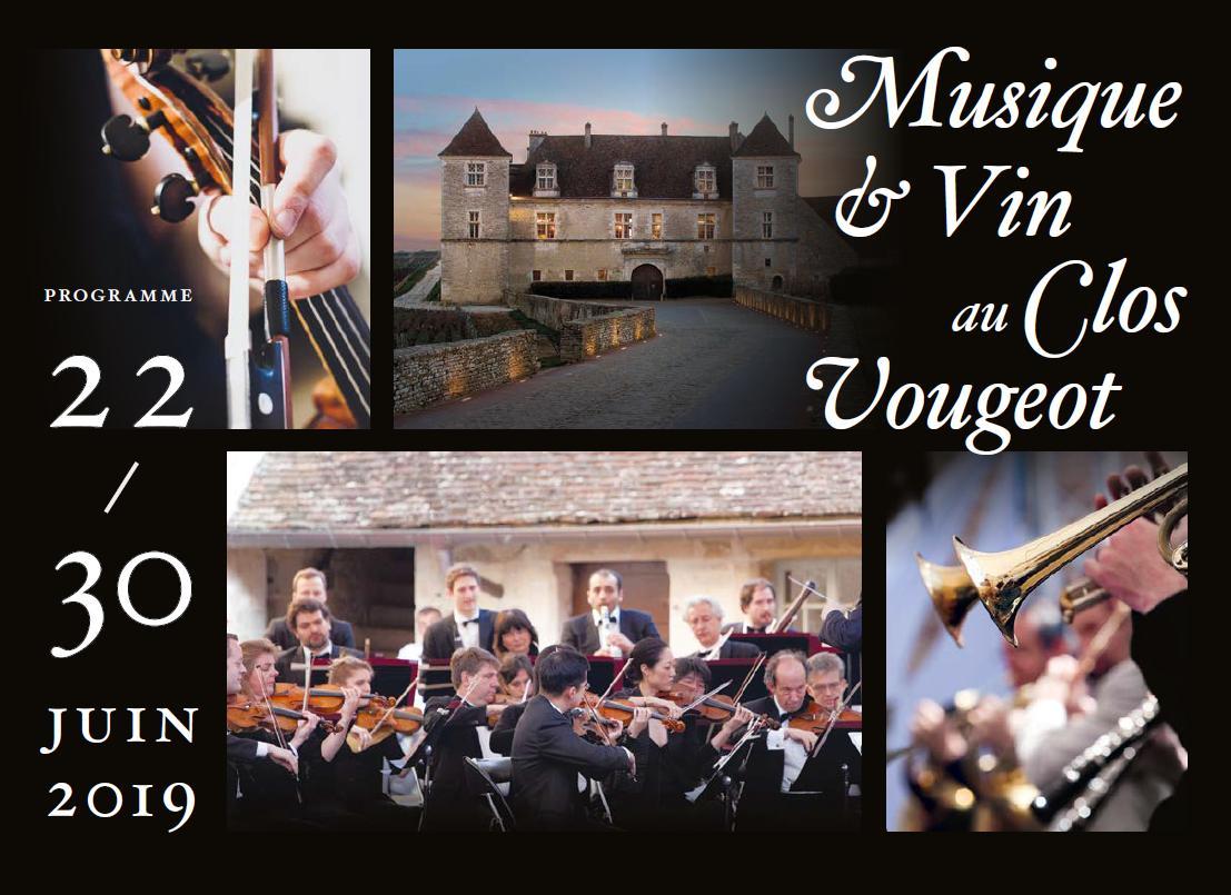 Le festival Musique et Vin au Clos Vougeot revient dès ce samedi 22 juin.  Musique et Vin au Clos Vougeot festival is back starting this Saturday 22nd June.  http://www.musiqueetvin-closvougeot.com/pic.twitter.com/f2Eg2dYTmq
