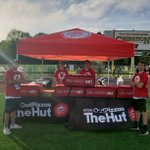 Thanks to @PizzaHut for supplying camper lunch for my ProCamp! #NoOneOutPizzasTheHut