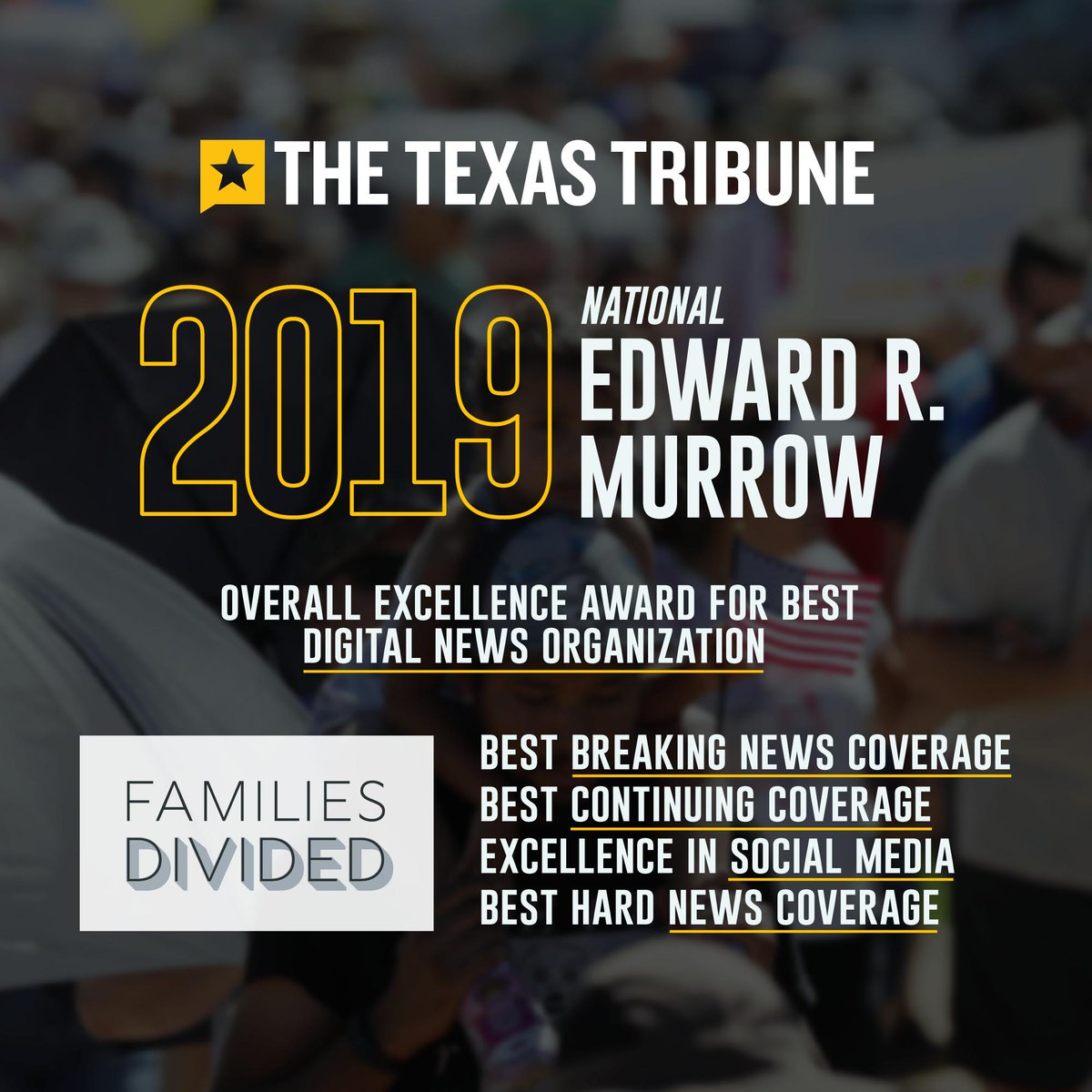 @TexasTribune's photo on #Murrow