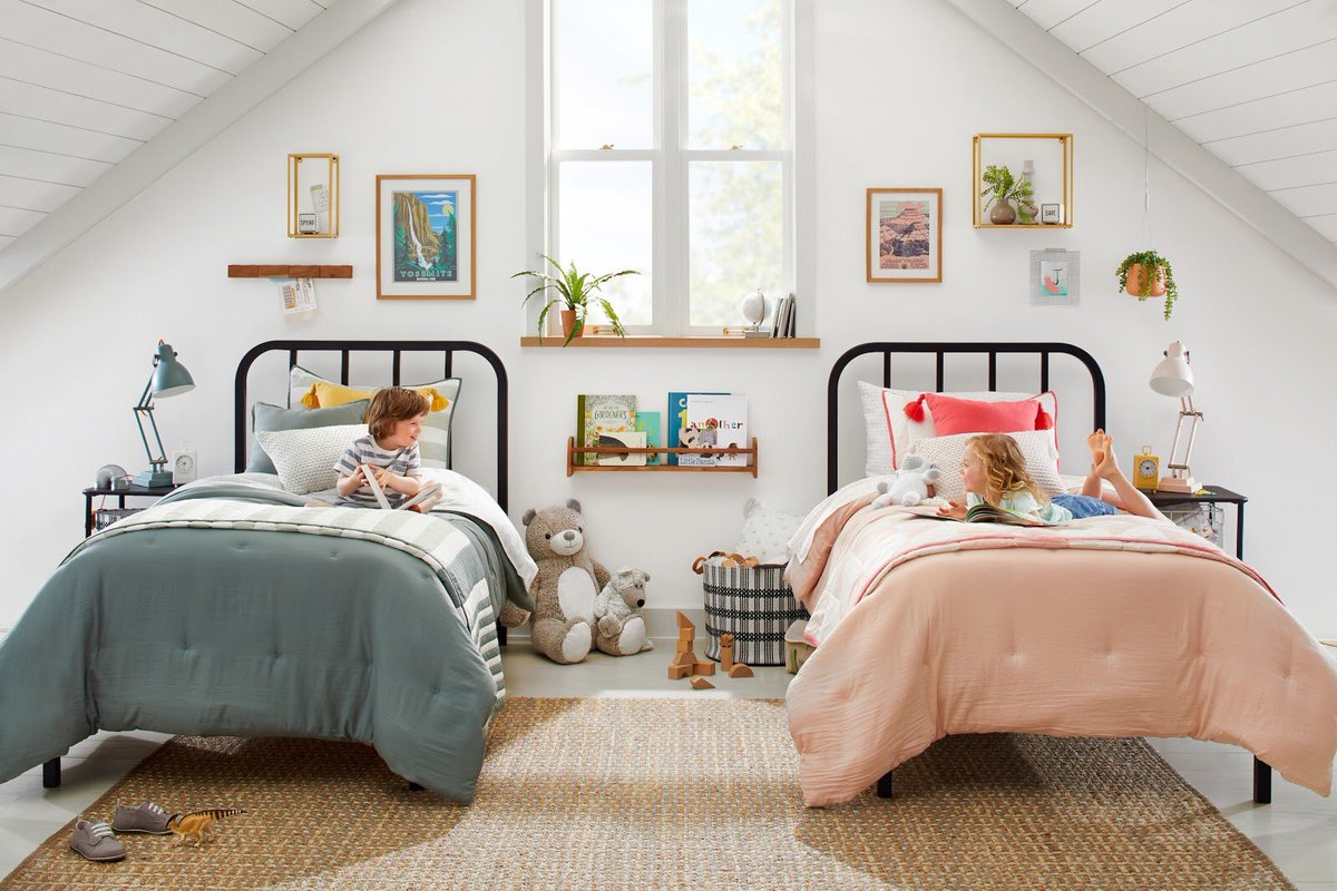 Joanna Gaines On Twitter Summer Is A Great Time To Freshen Up The Kids Bedroom Or Play Area And I Can T Wait For You To See What We Ve Come Up With This