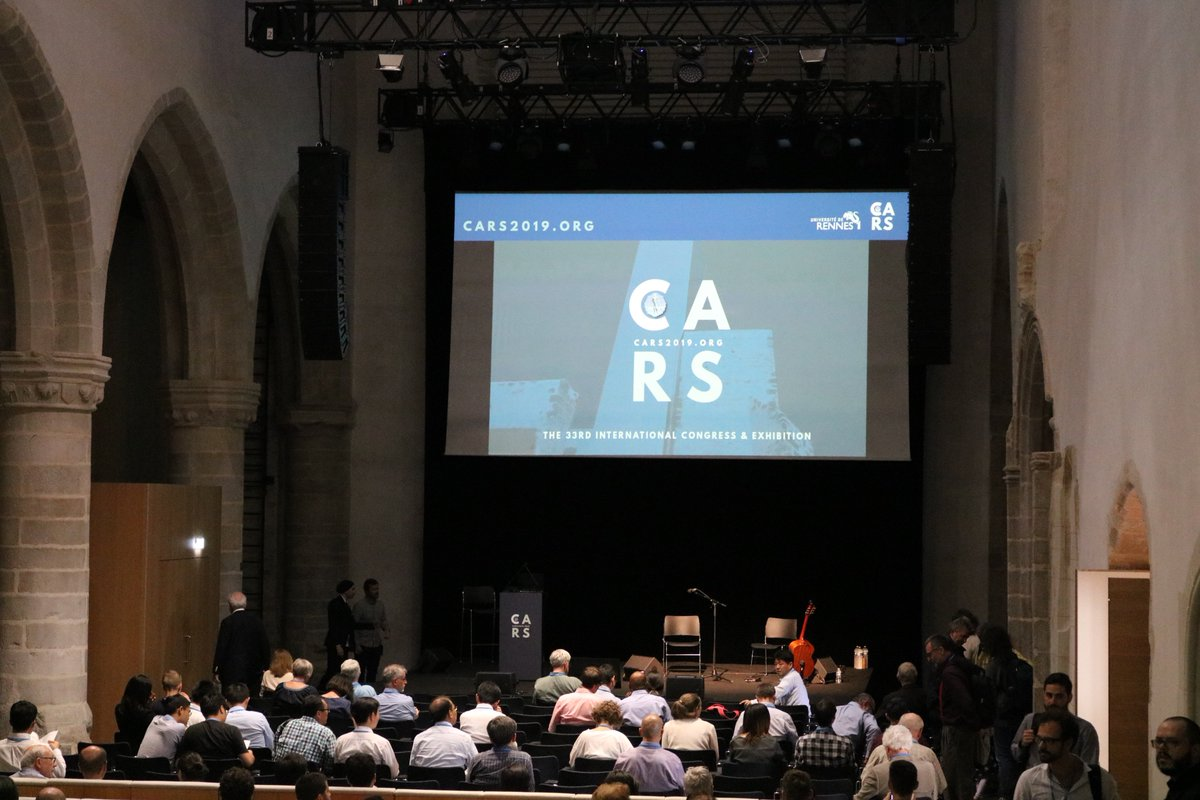 #CARS2019Rennes Opening Conference will soon begin<br>http://pic.twitter.com/8wrCNHNxsq