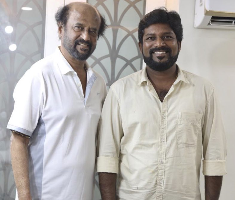 The dreams came true today at DARBAR shooting with superstar makkal Thalaivar and AR murugadoss very very happy....... <br>http://pic.twitter.com/6vxgif1ZtU