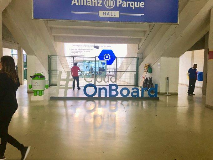 Estamos hoje no evento Google Cloud Onboard e está bombando ! Veja um pouco...