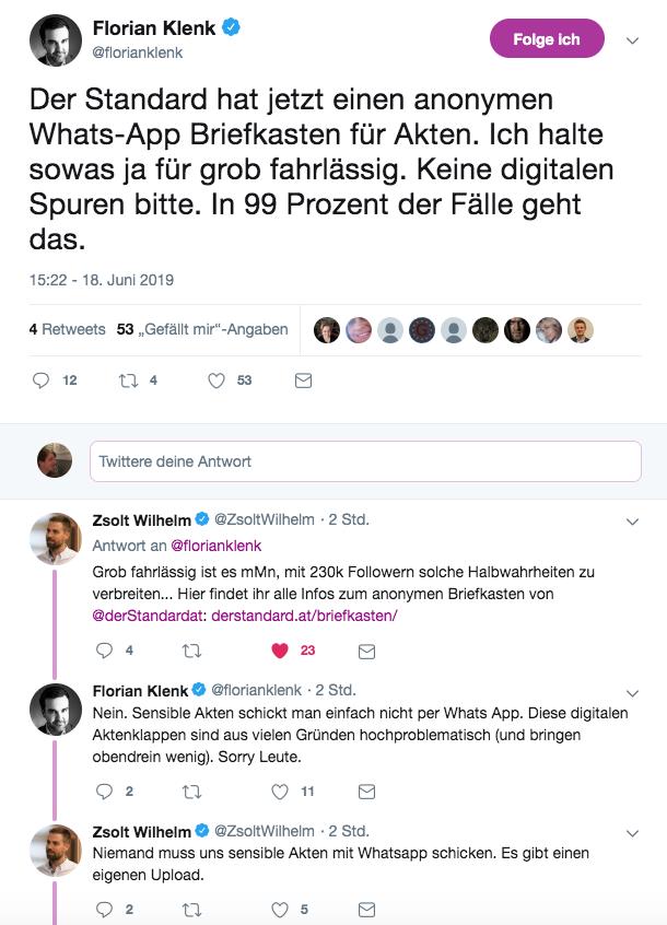 Florian Klenk On Twitter Dann Habt Ihr Das